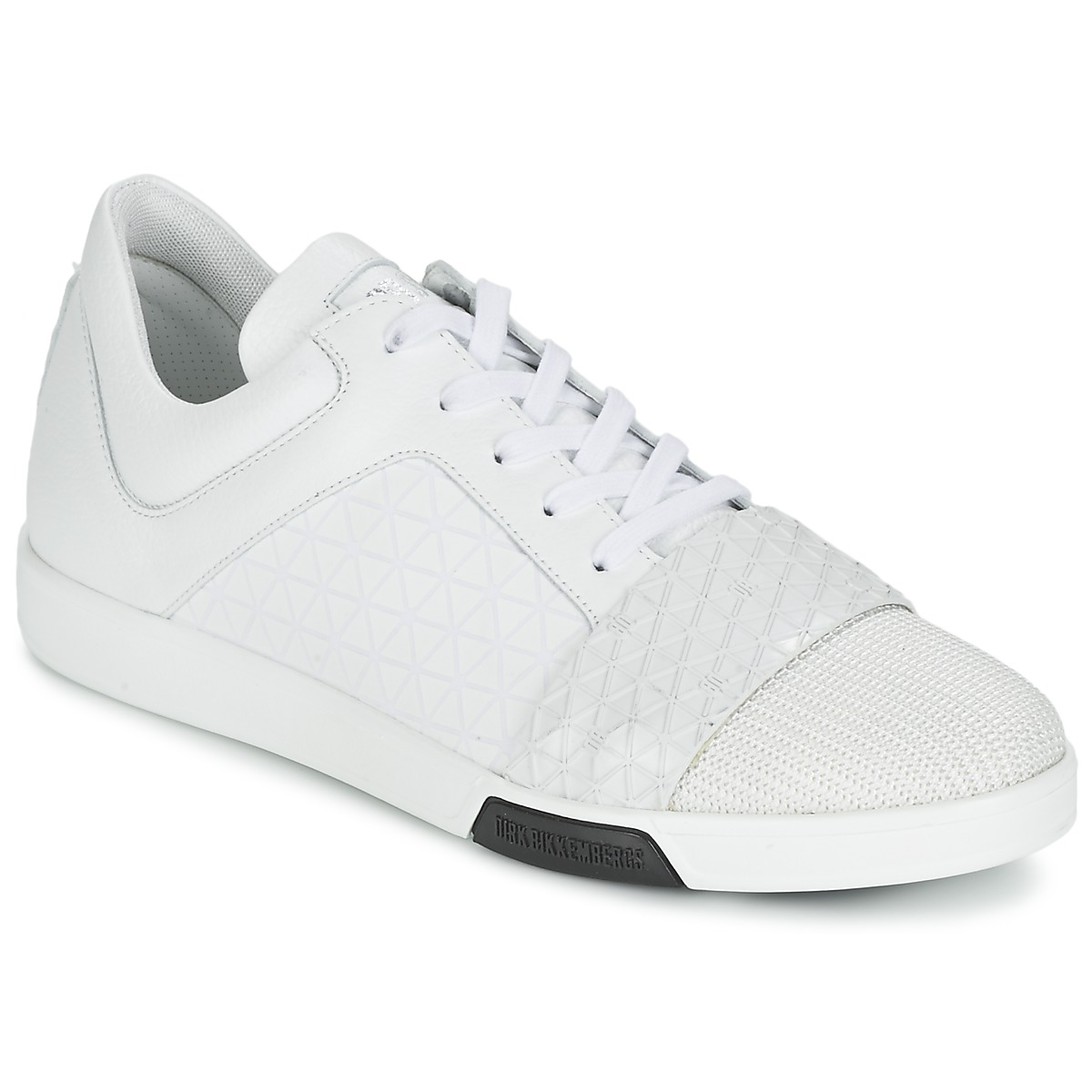 Bikkembergs OLYMPIAN LEATHER Blanc