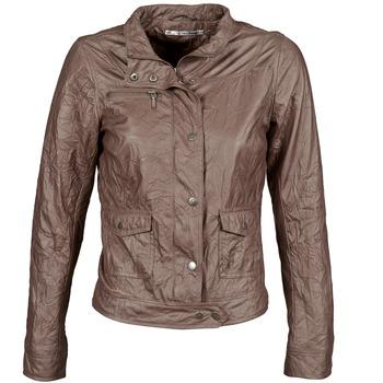 Vêtements Femme Vestes en cuir / synthétiques DDP GIRUP Marron
