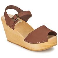 Chaussures Femme Sandales et Nu-pieds Le comptoir scandinave OGOLATO Marron