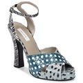 Chaussures Femme Sandales et Nu-pieds Marc Jacobs Elap Bleu / Blanc