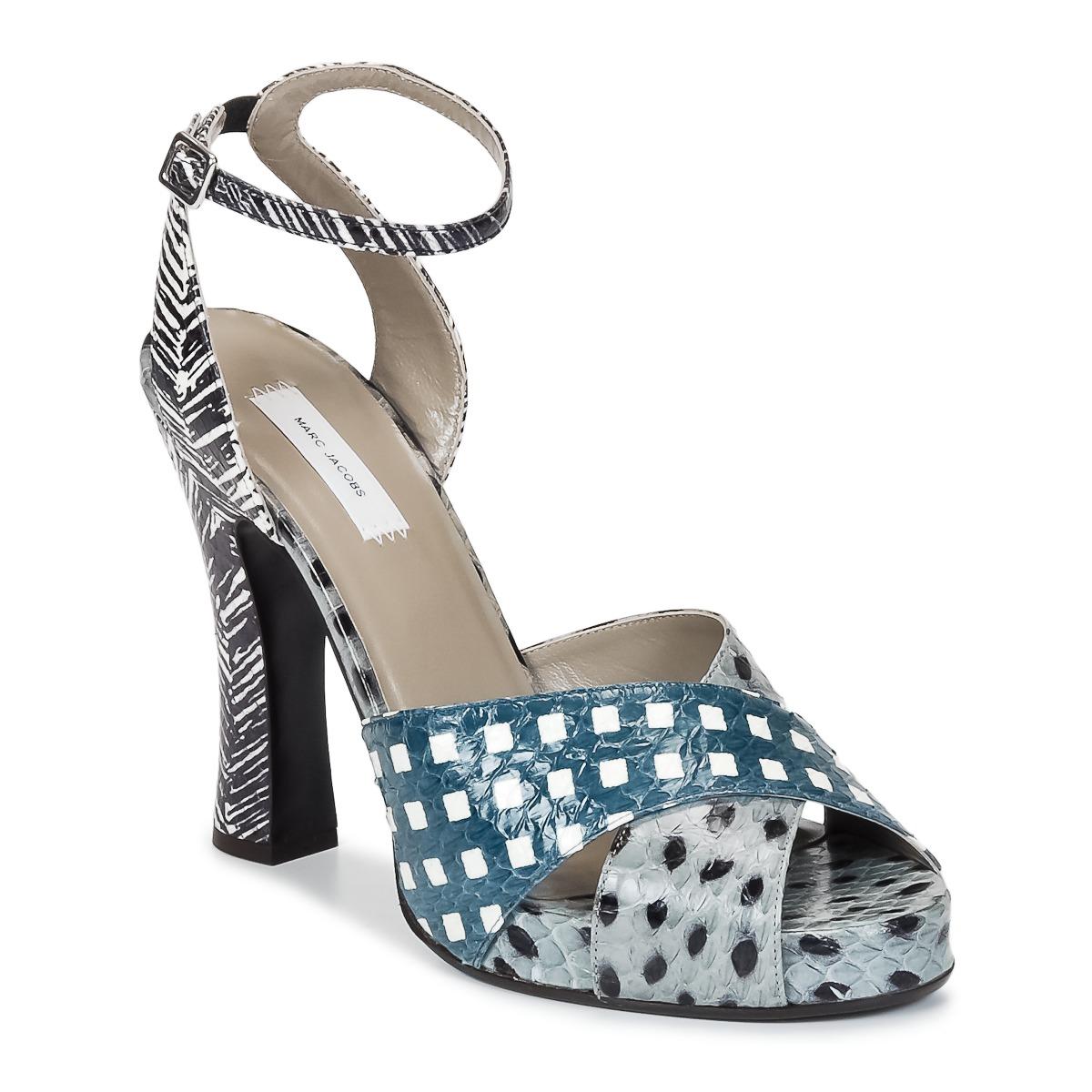 Sandale Marc Jacobs Elap Bleu / Blanc