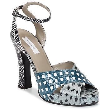 Sandale Marc Jacobs Elap Bleu / Blanc 350x350