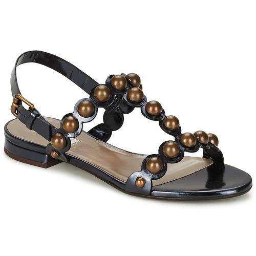 Chaussures Femme Sandales et Nu-pieds Marc Jacobs Vegetal Noir