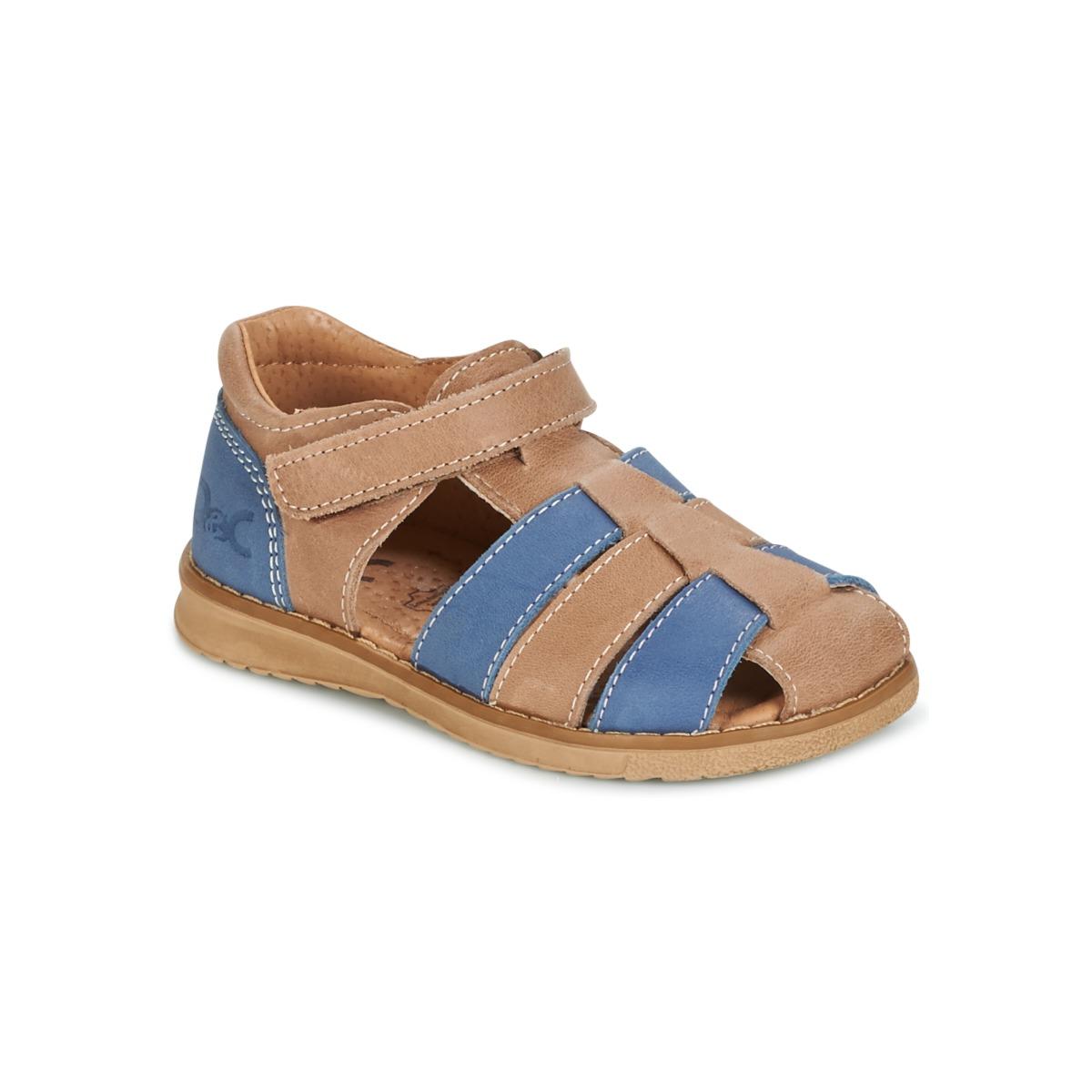 Sandale Citrouille et Compagnie FRINOUI Marron / Bleu