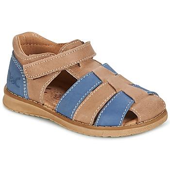 Sandale Citrouille et Compagnie FRINOUI Marron / Bleu 350x350