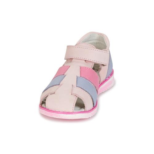 Clair Fuschia pieds Et Fille Chaussures RoseBleu Frinoui Sandales Nu Citrouille Compagnie 8n0vwONm