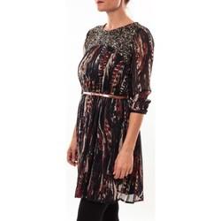 Vêtements Femme Robes courtes Barcelona Moda Robe 71525014 noir Noir
