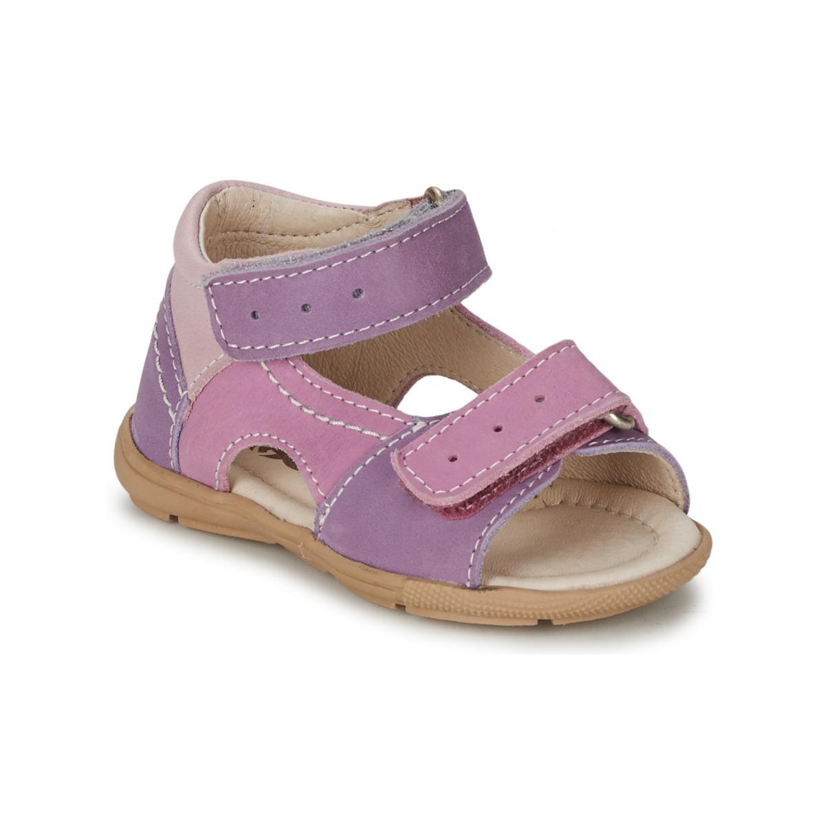 Sandale Citrouille et Compagnie KIMMY G Lilas / Violet / Nuee