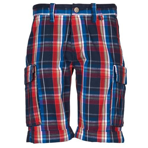 Shorts & Bermudas Oxbow TAKAROA Marine / Rouge 350x350