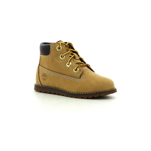Chaussures Garçon Boots Timberland Pokey Pine 6In Boot Wheat