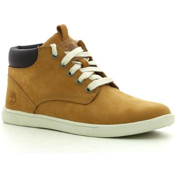 Chaussures Garçon Baskets montantes Timberland Grvtn Ek Ltr Chk Whe Wheat