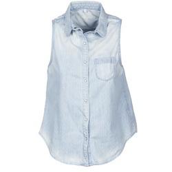 Vêtements Femme Chemises manches courtes Pepe jeans POCHI Bleu