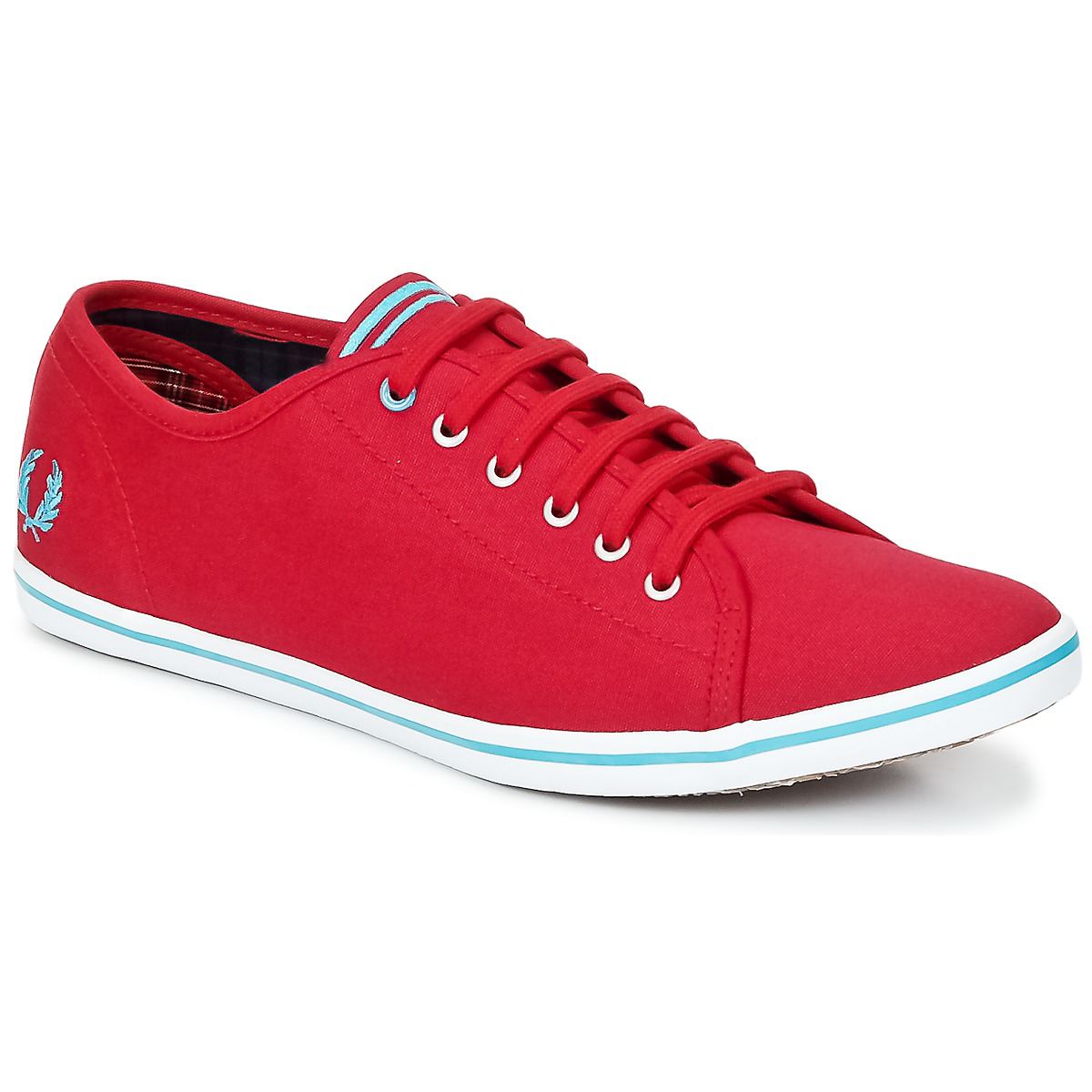 Fred Perry PHOENIX CANVAS Rouge / Bleu