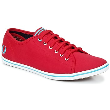Baskets mode Fred Perry PHOENIX CANVAS Rouge / Bleu 350x350