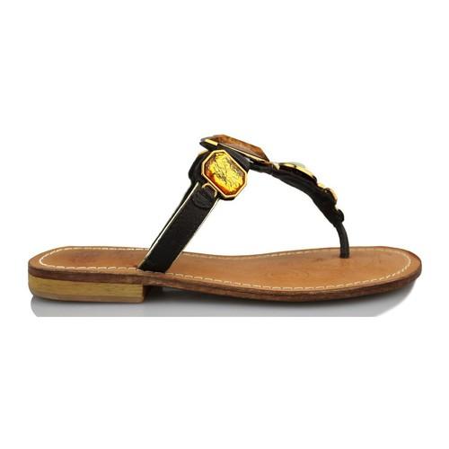 Chaussures Femme Sandales et Nu-pieds Geox sandales occasionnels NOIR
