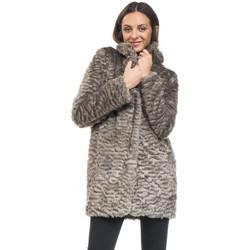 Vêtements Femme Manteaux Salsa Manteau Femme RUSSIA fourrure 113409 Gris