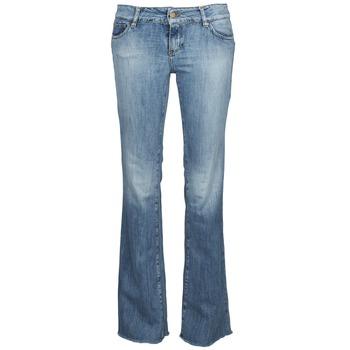 Vêtements Femme Jeans bootcut Acquaverde ADRIANA Bleu