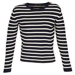 Vêtements Femme Pulls Acquaverde MAS Marine / Ecru