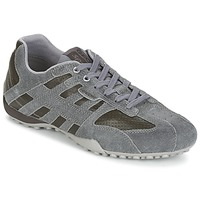 Chaussures Homme Baskets basses Geox SNAKE K Gris / Marron