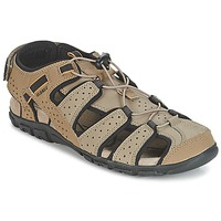 Chaussures Homme Sandales sport Geox S.STRADA B Sable