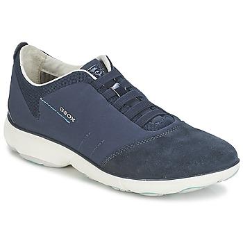 Chaussures Femme Baskets basses Geox NEBULA C Marine