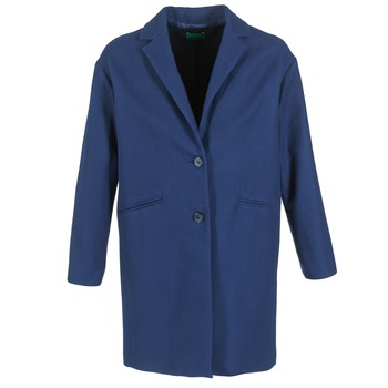 Vêtements Femme Manteaux Benetton AGRETE Marine