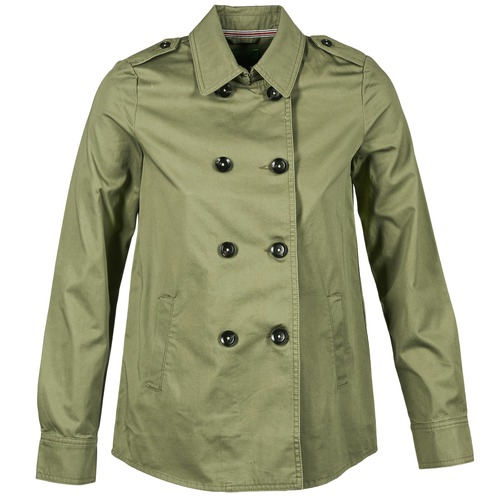 Vêtements Femme Blousons Benetton TUNALI Kaki