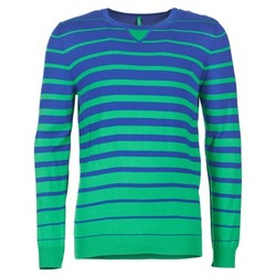 Vêtements Homme Pulls Benetton FODIME Marine / Vert