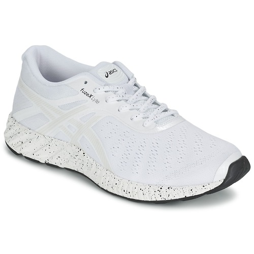 Chaussures Homme Running / trail Asics FUZE X LYTE WHITE NOISE PACK Blanc / Argent