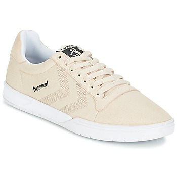 Baskets mode Hummel HML STADIL CANVAS LO Crème 350x350