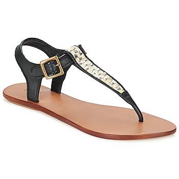 Chaussures Femme Sandales et Nu-pieds Koah MELL Noir / Argent