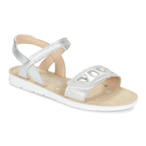 Chaussures Fille Sandales et Nu-pieds Clarks MIMOMAGIC JUNIOR Argent