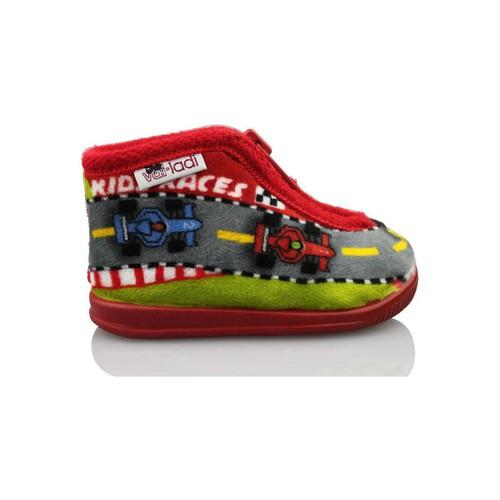 Chaussures Garçon Chaussons bébés Vulladi F1 ROUGE