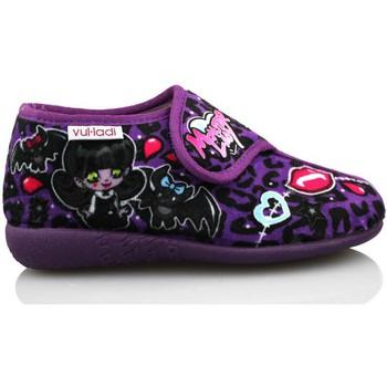 Chaussures Fille Chaussons Vulladi ALASKA VIOLET