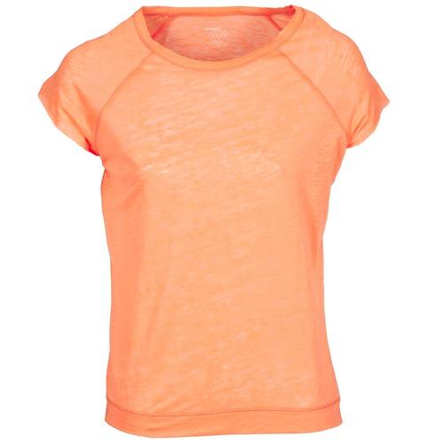 Vêtements Femme T-shirts manches courtes Majestic 2105 Orange Fluo