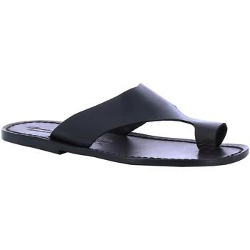 Chaussures Homme Claquettes Gianluca - L'artigiano Del Cuoio 521 U NERO CUOIO nero