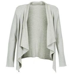 Vêtements Femme Gilets / Cardigans Majestic 4003 Gris