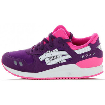 Chaussures Fille Baskets basses Asics Gel Lyte 3 Junior - Ref. C5A4N-3301 Violet