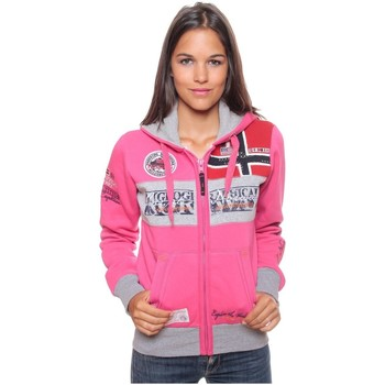 Vêtements Femme Sweats Geographical Norway Sweat Femme Flyer Rose