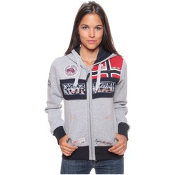Vêtements Femme Sweats Geographical Norway Sweat Femme Flyer Gris Clair