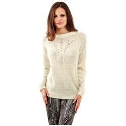 Vêtements Femme Pulls Guess Pull  Candida Blanc Blanc