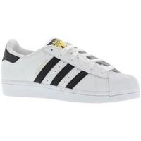 Chaussures Homme Baskets basses adidas Originals Superstar Blanc / Noir