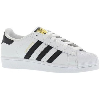 Chaussures Homme Baskets basses adidas Originals Superstar Blanc / Noir