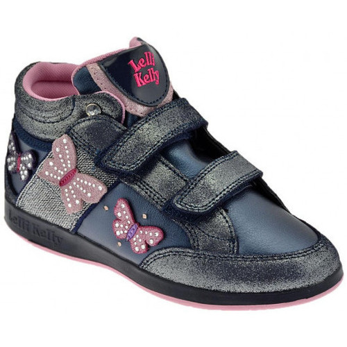 Chaussures Fille Baskets montantes Lelli Kelly Butterfly Light Velcro Baskets montantes