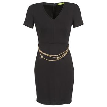 Vêtements Femme Robes courtes Versace Jeans NDM911 EASY Noir