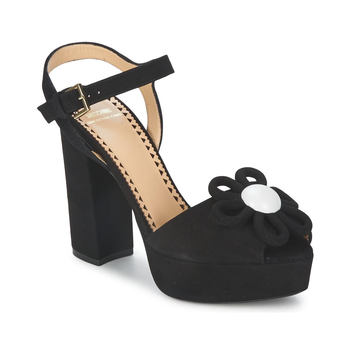 Sandale Moschino Cheap & CHIC CA1617 Noir