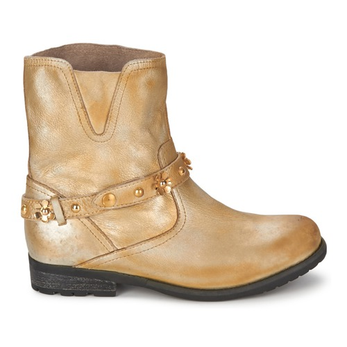 Femme Ca21013 Chic Moschino Cheapamp; Boots Doré dxBeWrCo
