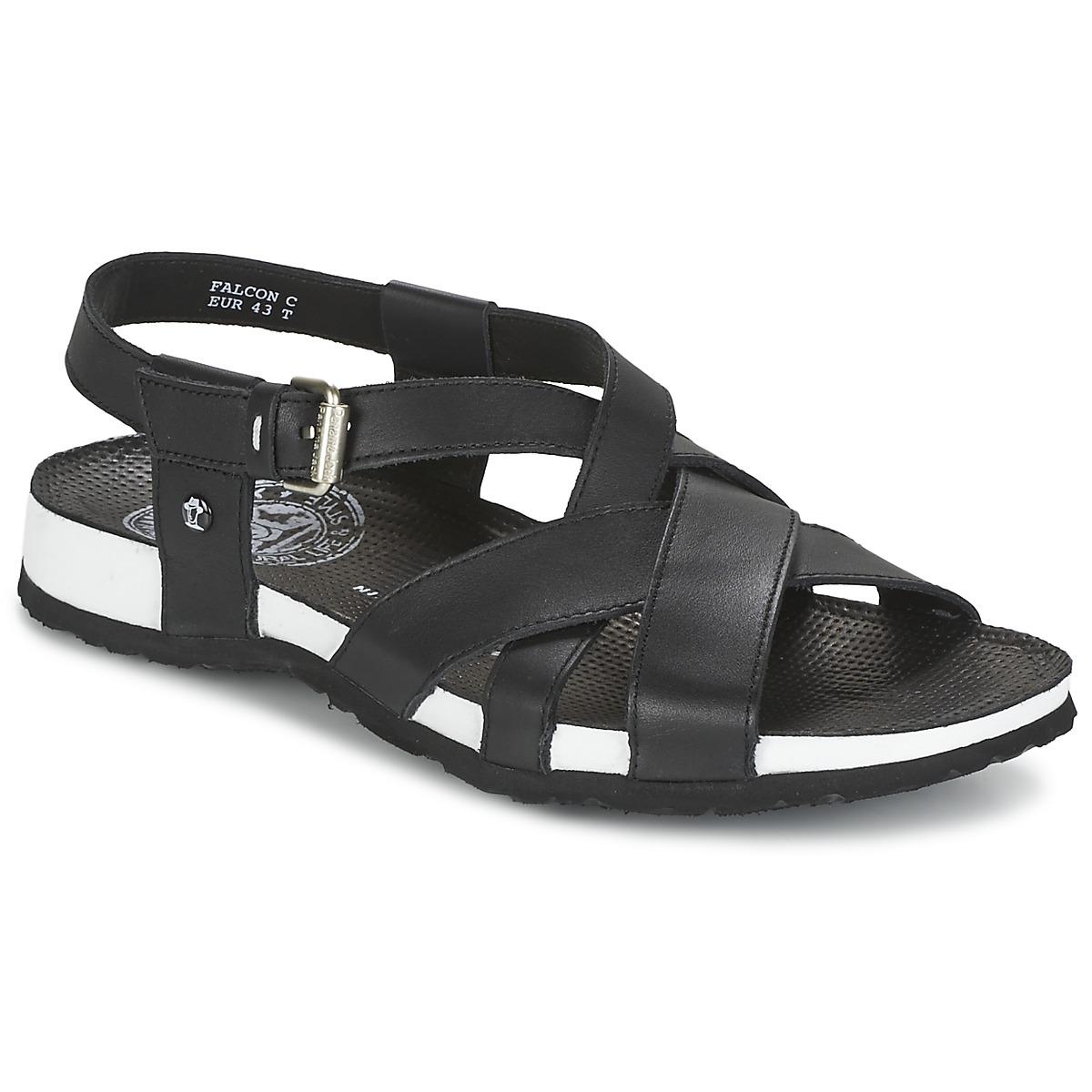 Sandale Panama Jack FALCON Noir