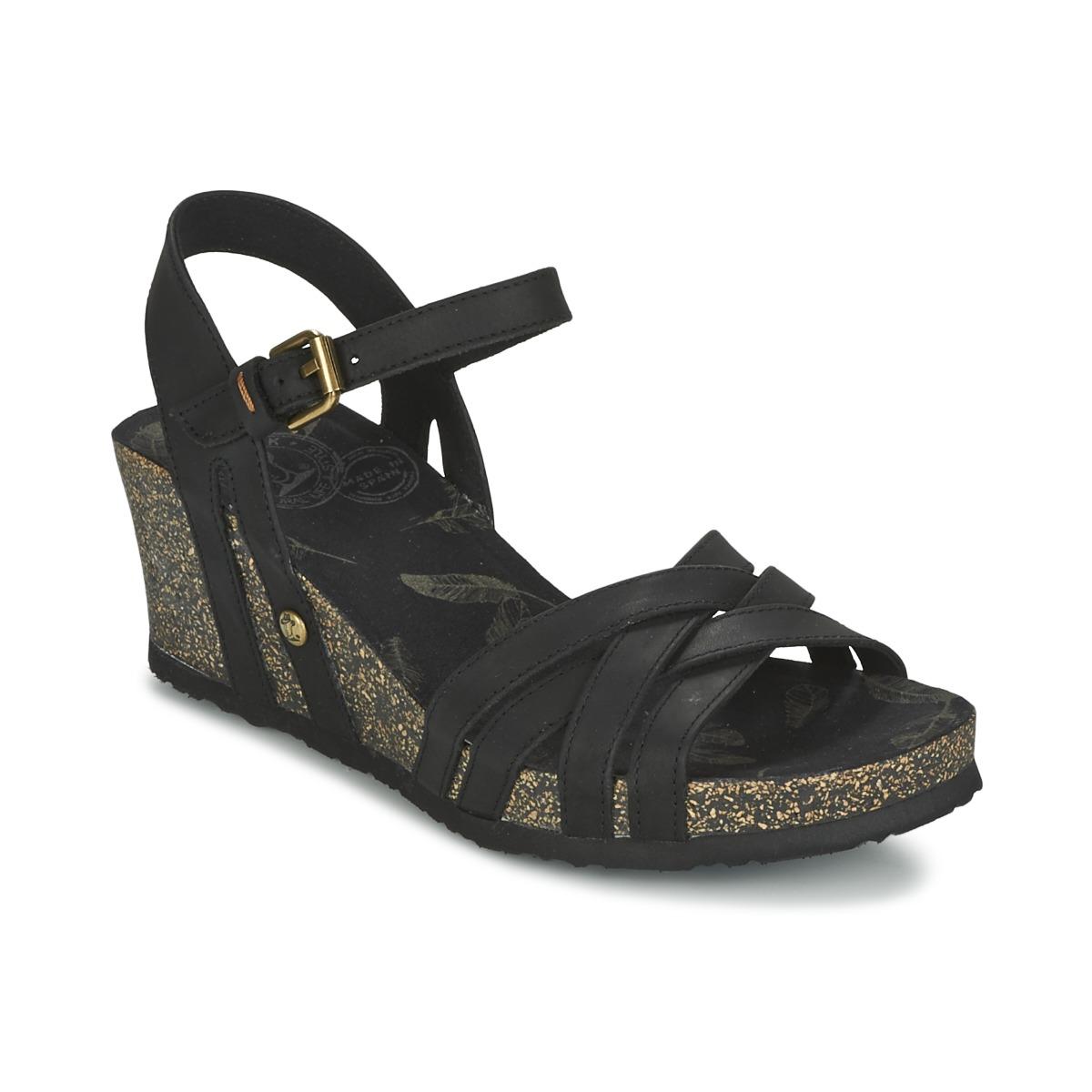Sandale Panama Jack VERA Noir