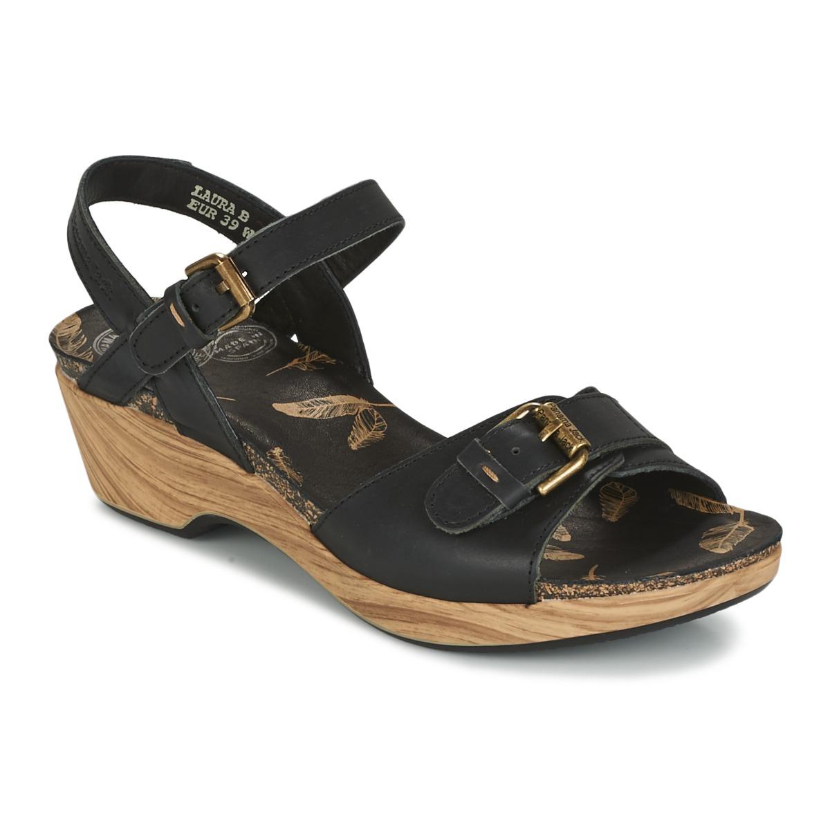 Sandale Panama Jack LAURA Noir